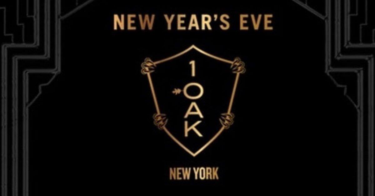 1 OAK New Years Eve