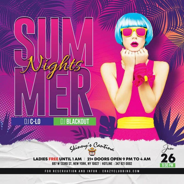 summer nights Skinny's Cantina saturday