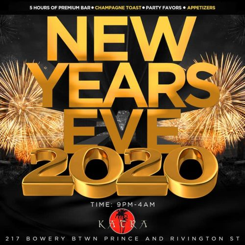 Katra Lounge New Years Eve